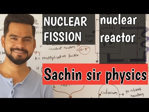 5. NUCLEAR FISSION | NUCLEAR REACTOR | NUCLEI CLASS 12