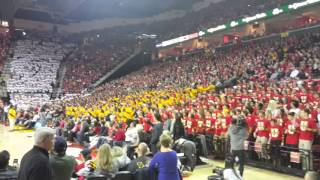 Maryland Students Flash Mob vs. Wisconsin 2016