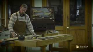 Antique Dovetailed Blanket Chest Restoration Part 2 W/ Frank Strazza