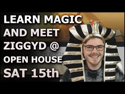 Learn to Play Magic: The Gathering at Open House & ZIGGYD Fan Meetup! (Sponsored)