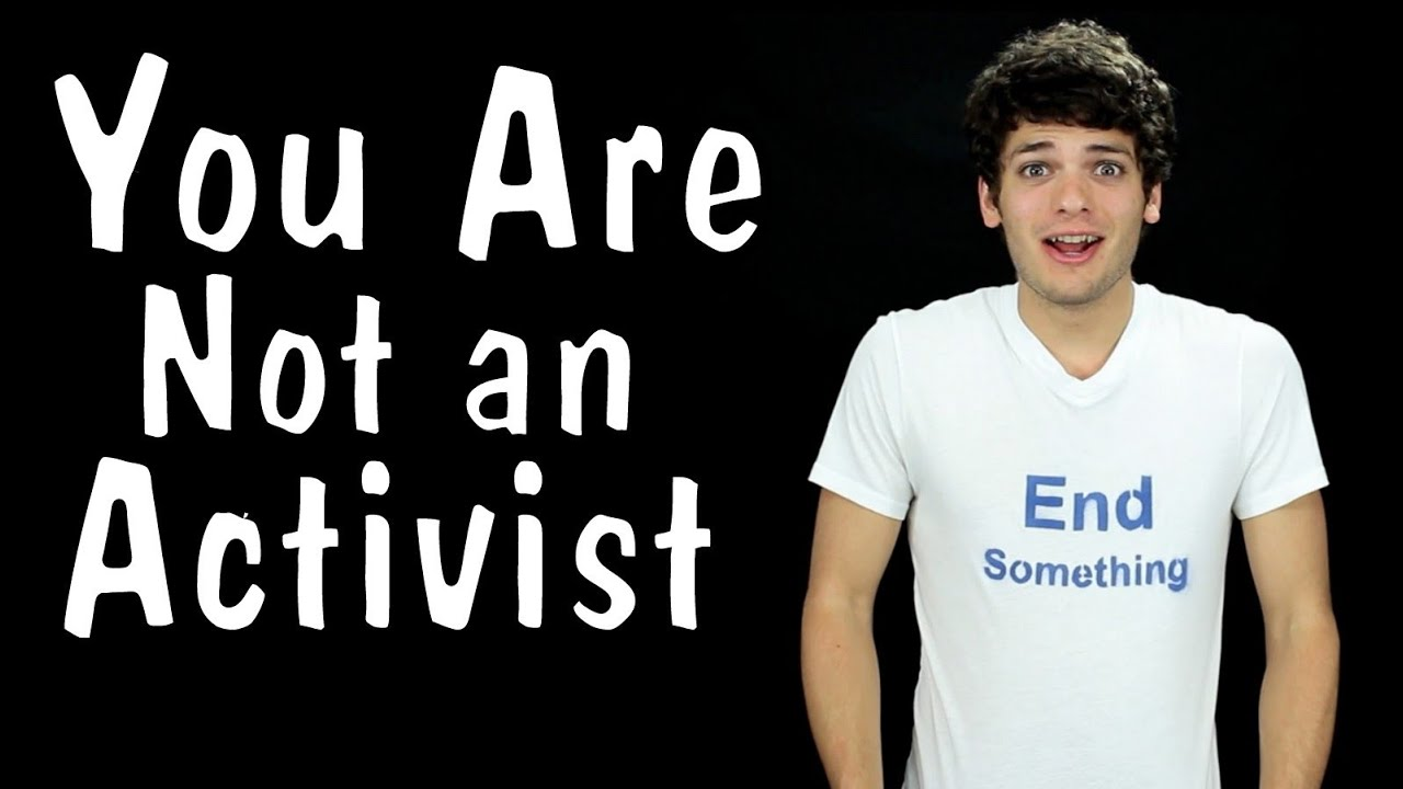 Messy Mondays: You Are Not an Activist