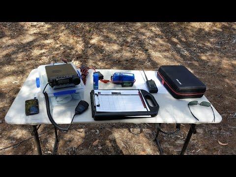Portable Amateur Radio Equipment