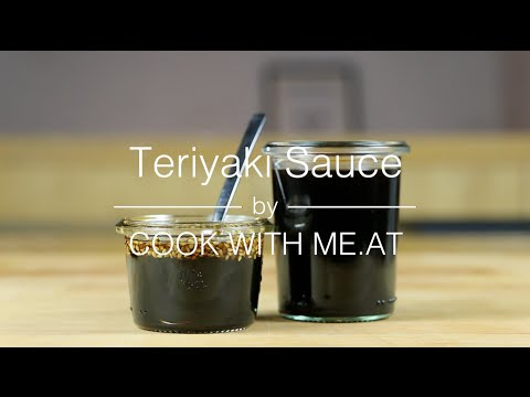 Teriyaki Sauce - Perfect Sauce Marinade or Glaze - COOK WITH ME.AT