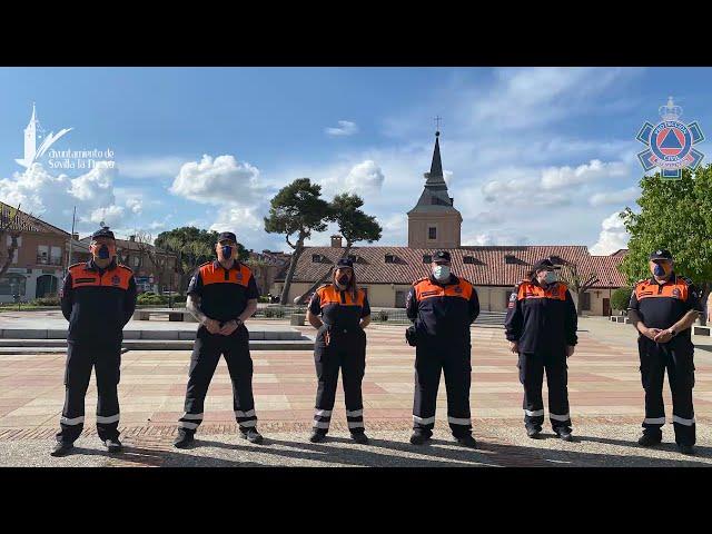 Homenaje Protección Civil 2021