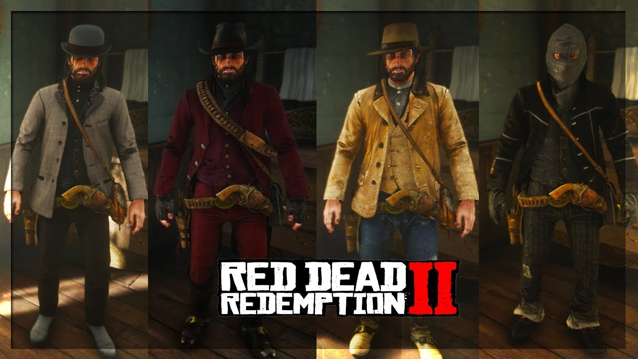 Top 10 Best Custom Outfits In Red Dead Redemption 2! (RDR2 Best Outfits)