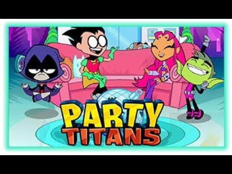 Party Titans | Teen Titans Go! Games | Cartoon Network ...