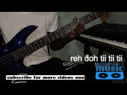 """You are God alone"" Bass Line by William-McDowell"
