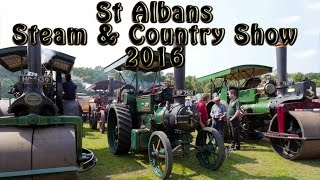St Albans Steam & Country Show - A Dave Holden Video