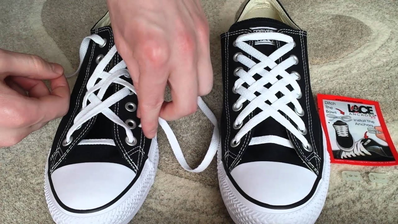 Tying Converse Shoes