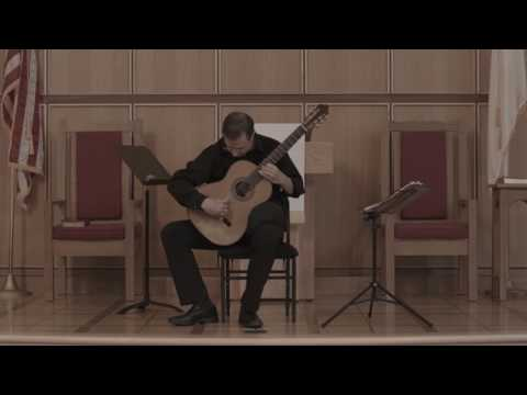 Charles Mokotoff Live Classical Guitar Concert Part 1