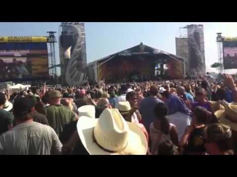 Kid Rock & Trombone Shorty at Jazzfest 2011