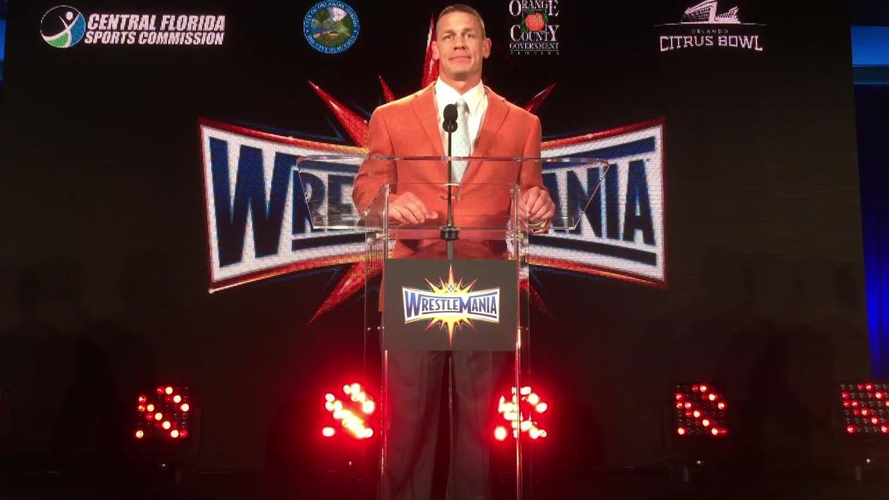 Image result for John Cena WWE press conference