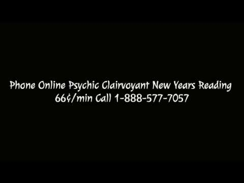 Phone Online Psychic Clairvoyant New Years Reading