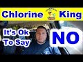 It's OK to Say NO - Chlorine King Pool Service