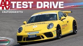TRACK TEST PORSCHE 911 GT3 4.0 + Michelin Track Connect