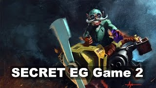 SECRET EG - BIG Game 2 - ESL Grand Final Dota 2