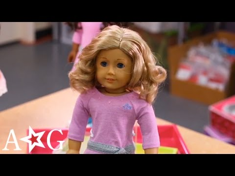 Doll Hair Styling Hacks For Every Hair | Doll Hairstyles | @American Girl