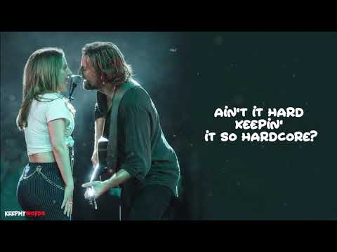 Lady Gaga & Bradley Cooper - Shallow ( Lyrics Video ) Mp3