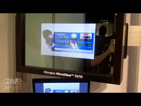 ISE 2015: NSG Group Exhibits Pilkington's MirroView 50/50 Transparent Mirror Product