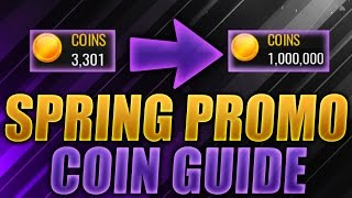 NBA Live Mobile SPRING/EASTER PROMO COIN METHOD! - BEST SETS TO MAKE COINS!! DOUBLE OR TRIPLE COINS!