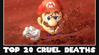 20 Most Brutal Ways to Die in Super Mario Games