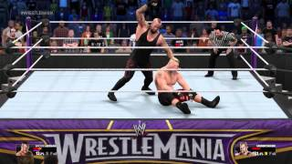 [PS4] WWE 2K15 - The Undertaker vs Brock Lesnar (1080p)(60fps) Epic Match