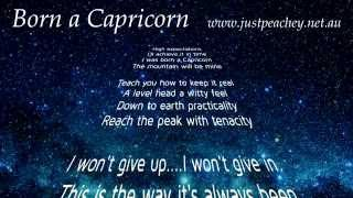 Capricorn Star Sign (Character Traits Song) by Just Peachey