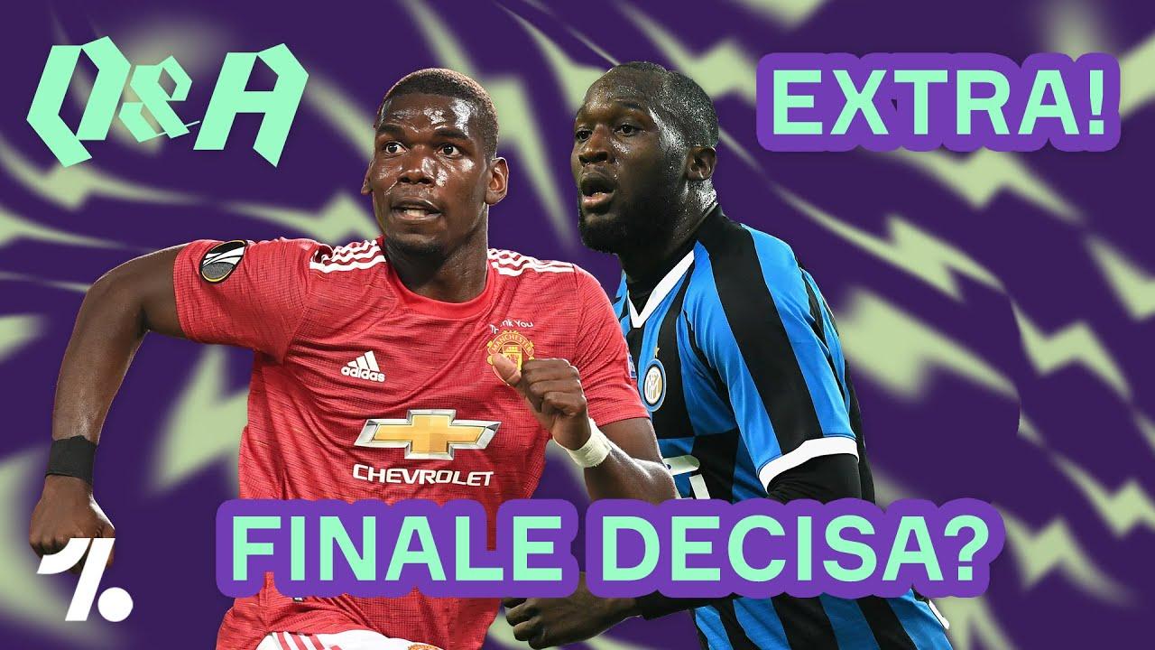 Europa League: sarà FINALE Inter - Manchester United? ► Q&A Extra
