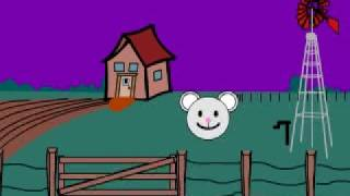 Kids Halloween Music Mouse in Haunted in House Mini Monsters Club