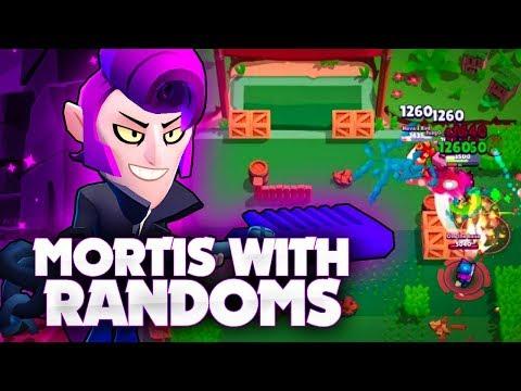 Mortis In Brawl Ball With Randoms