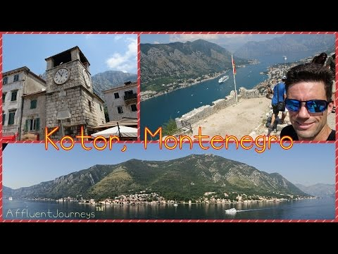 Royal Princess Day 4: Kotor, Montenegro: Castle of San Giovanni Mountain Climb, and a Backflip