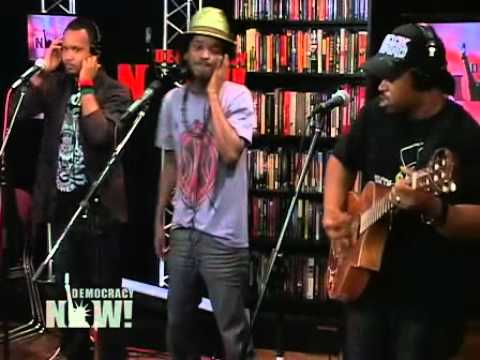 K'naan - Wavin' Flag (Live Acoustic on Democracy Now)