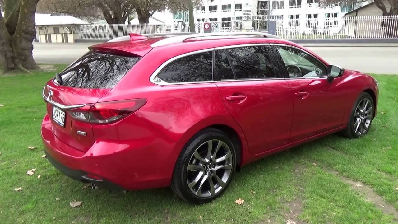 Mazda 6 Limited Wagon 2016 Soul Red Blackwells