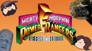 mighty morphin power rangers the fighting edition game grumps vs