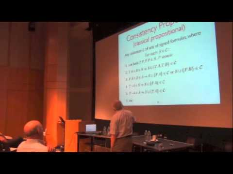Melvin Fitting's talk at The Constructive in Logic and Applications 2012