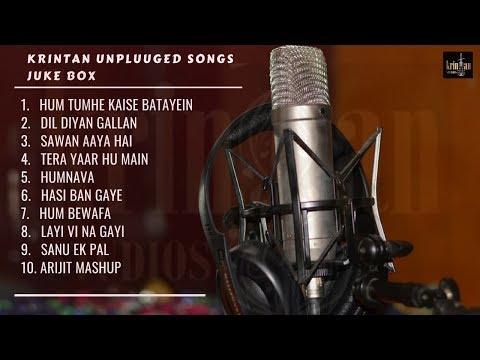 BEST MIX BOLLYWOOD UNPLUGGED SONGS JUKEBOX|Krintan Music |