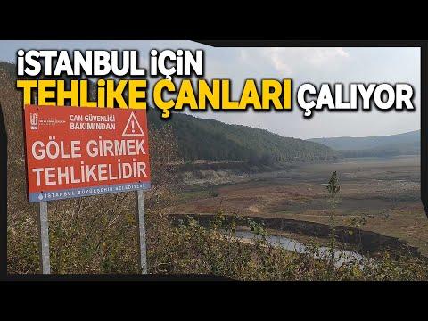 İstanbul'a İçme Suyu Sağlayan Trakya'daki 4 Baraj Kurudu