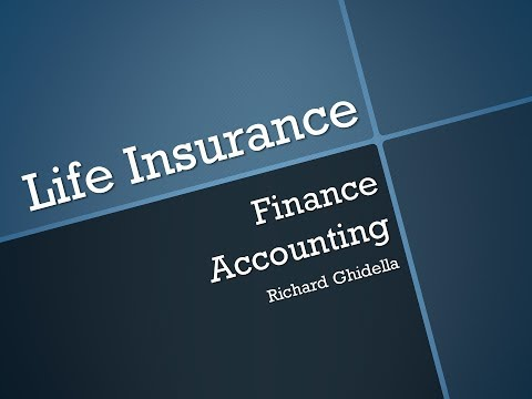 Lecture 20-Life Insurance (Chapter 10)