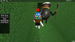How to GLITCH the wall of This is a Wizard - ROBLOX Baldi's Basics RP ALPHA (NEW Update)