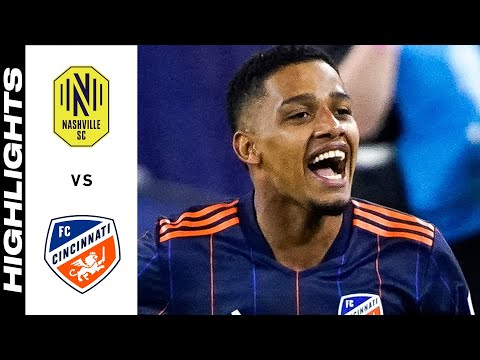 Nashville SC Cincinnati Goals And Highlights