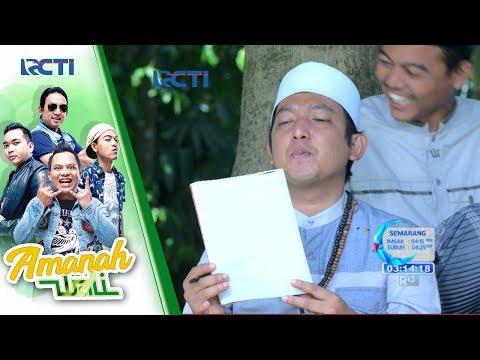 AMANAH WALI - Apoy Nulis Lirik Lagu Buat Bu Yanti [13 Juni 2017]