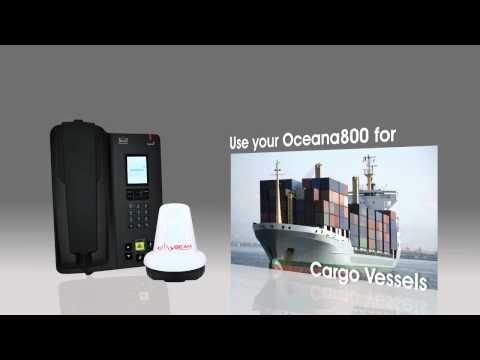 Inmarsat Oceana 800 Satellite Maritime Solution