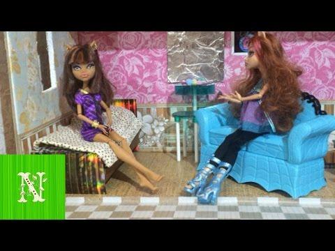 Монстр хай видео приколы с куклами