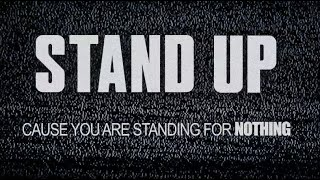 Stand Up (Official Lyrics) – Tom Morello x Shea Diamond x Dan Reynolds x The Bloody Beetroots