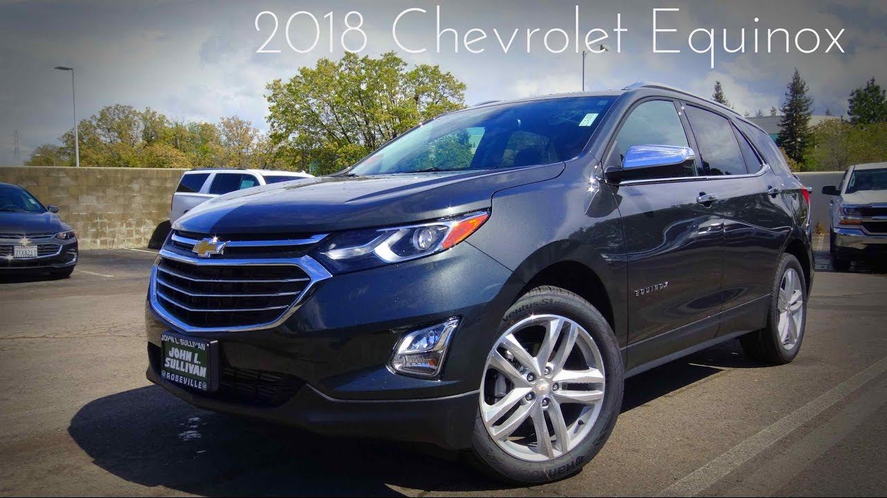 2018 Chevrolet Equinox Premier 1.5 L Turbocharged 4 ...