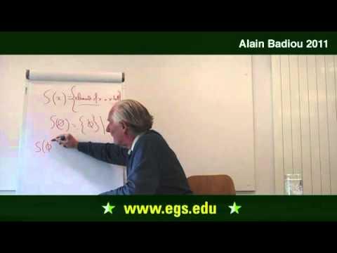 Alain Badiou. The Ontology of Multiplicity: The Singleton of The Void. 2011