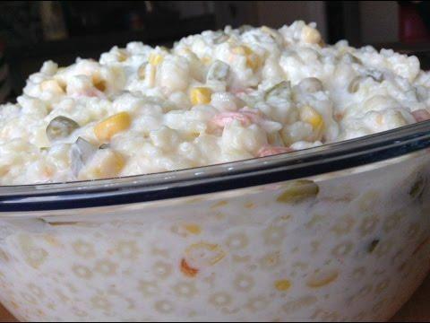 Ambrosia Salatası Nasıl Yapılır Resimli Tarif