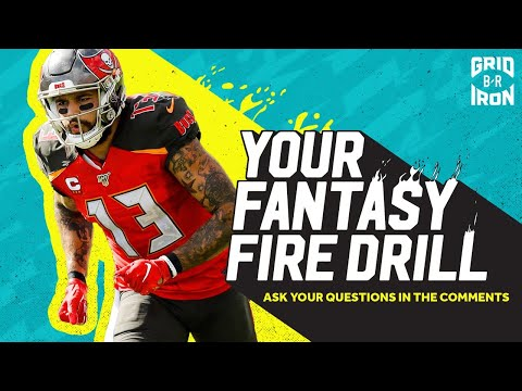 "NFL Week 13 Fantasy Football Advice | ""Your Fantasy Fire Drill"""