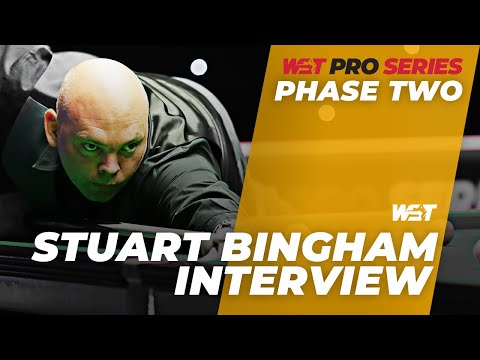 Phase Two Runner-Up Stuart Bingham Progresses To Final Group | WST Pro Series