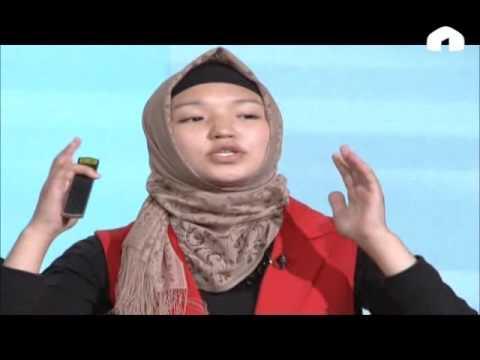 """TEDX youht@Bishkek: """"Горбатое поколение"""". Айдай Банбекова и Кызжибек Кубатбекова"""